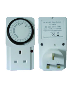 TS-MEI 3Pin 220V Programme Timer(Hourly)
