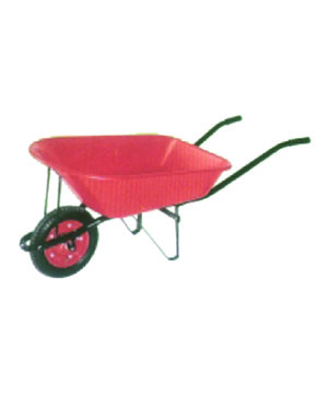 Wheel Barrow Red Color