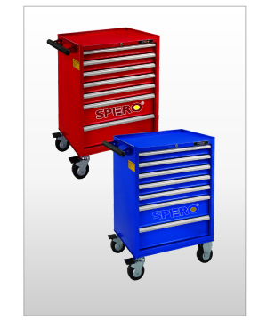 7-Drawer Tool Trolley