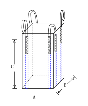 PP JUMBO BAG WITHOUT TOP COVER