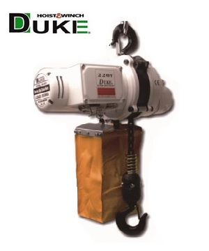 """DUKE"" Electric Mini Chain Hoist"