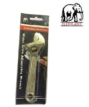 """ELEPHANT"" American Type Adjustable Wrench"