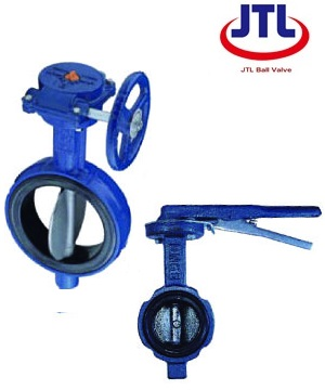 """JTL"" Inox Cast-Iron Wafer Type Butterfly Valve"