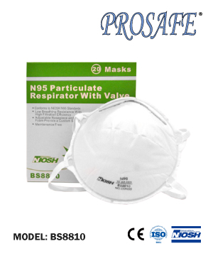 BS8810 NOISH N95 Particulate Respirator