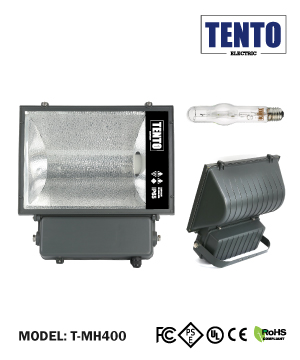 """TENTO"" Metal Halide Light with Tube"