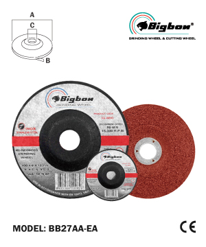 """BIGBON"" Double Net Grinding Disc for Stainless Steel"